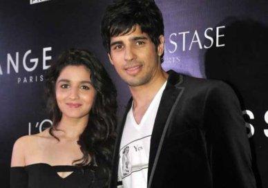 Alia Bhatt With Sidharth Malhotra