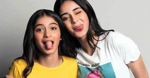 Ananya Panday With Her Sister