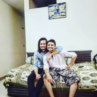 Bhuvan Bam With His Brother