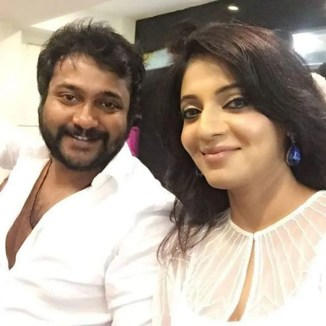 Bobby Simha With His Sister