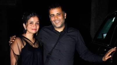 Chetan Bhagat With Anusha Suryanarayanan Bhagat
