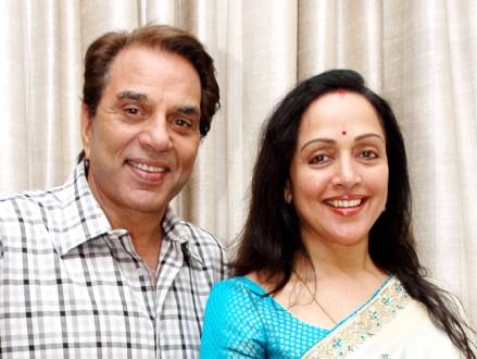 Dharmendra With Hema Malini