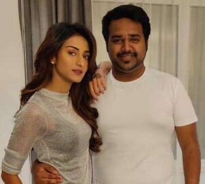 Erica Fernandes With Her Brother