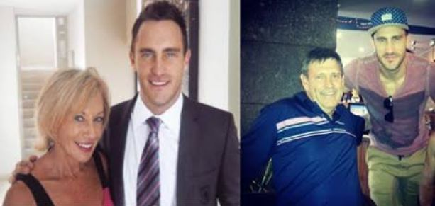 Faf du Plessis Father And Mother