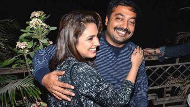 Huma Qureshi With Anurag Kashyap