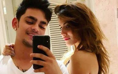 Ishan Kishan With Aditi Hundia lauds