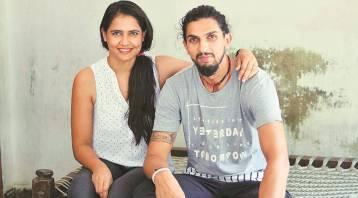Ishant Sharma With Wife