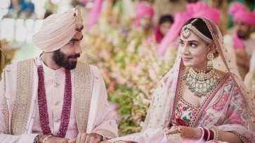 Jasprit Bumrah With Sanjana Ganesan