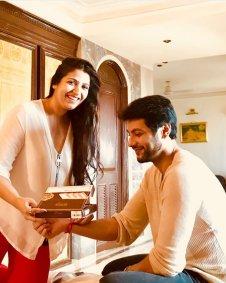 Mishal Raheja With His Sister