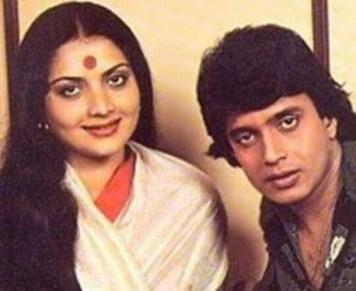 Mithun Chakraborty With Yogita Bali
