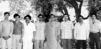 Nandamuri Balakrishna With His Brother