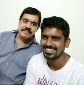 Murugan Ashwin With His Father