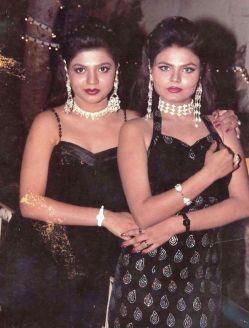 Rakhi Sawant With Her Sister