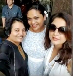 Ramya Krishnan With Her Sister