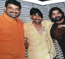 Ravi Teja With His Brother