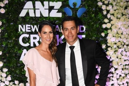 Ross Taylor With Victoria Jayne