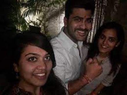 Sharwanand With His Sister