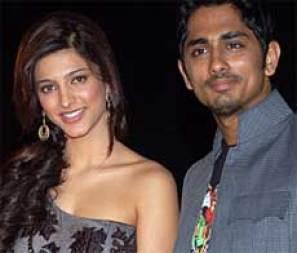 Shruti Hassan With Siddharth