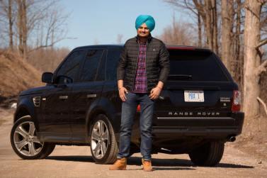 Belong Karda With His Car