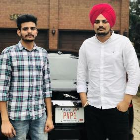 Sidhu Moosewala With His Brother