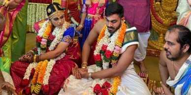Vijay Shankar With Vaishali Visweswaran