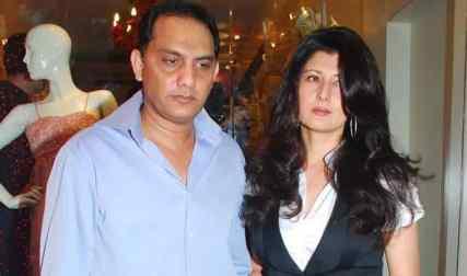Mohammad Azharuddin With Sangeeta Bijlani