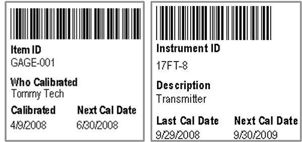 Calibration Barcoding with ProCal Calibration Management