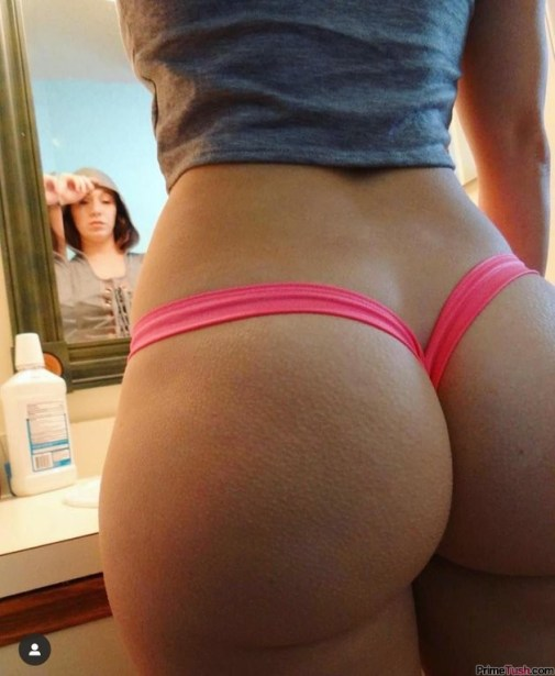 round-butt-in-thong