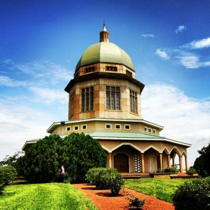 Bahai temple , uganda safaris , uganda tours