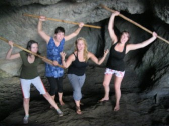 A safari to Siipi Falls caves