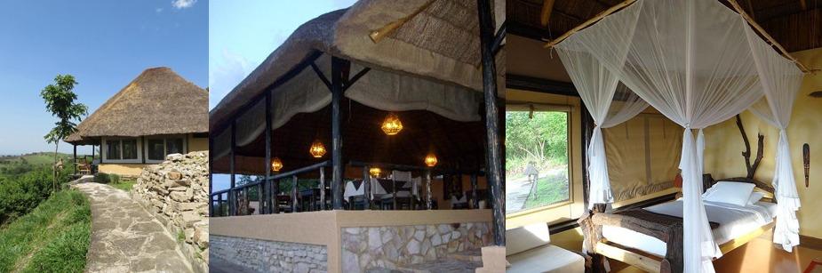Kyambura Game Lodge- accommodation on a uganda safari