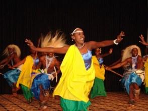 Rwanda Safari Traditional Dancers