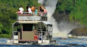 The Nile Launch Cruise in Murchison Falls National Park Uganda tour