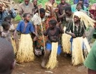 batwa entertaining guests