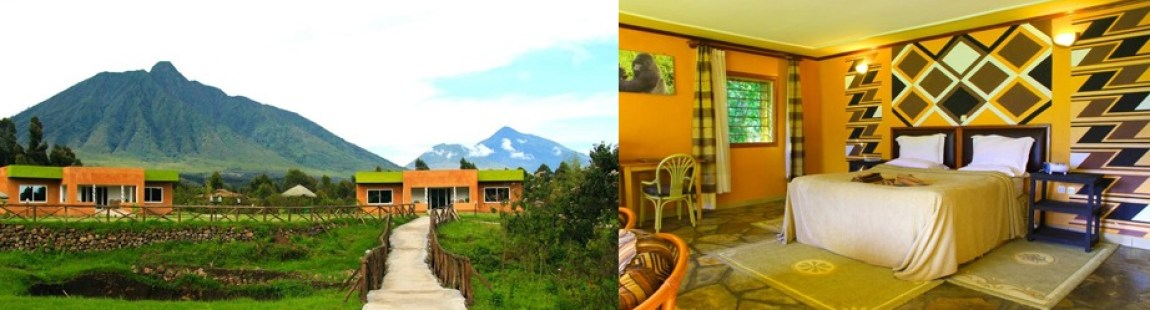 mountain-gahinga-accommodation on a rwanda tour