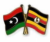 uganda libyan flags