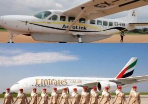 Flights to uganda tour