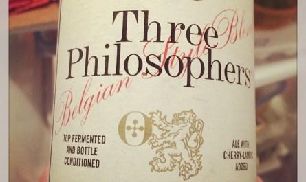 Ommegang Three Philosophers