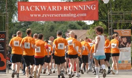 Backward Running