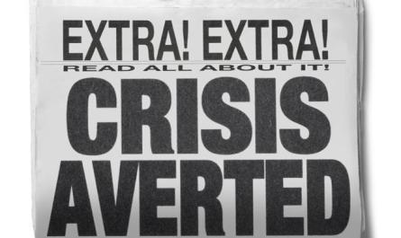 Crisis Averted?