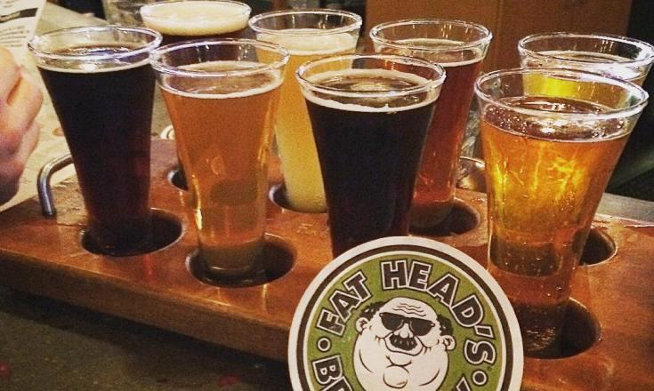 Fat Head's Brewery Flight