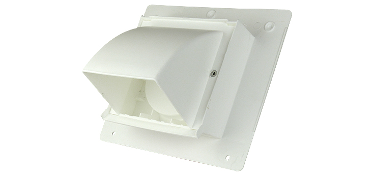 wall cap intake and exhaust vent