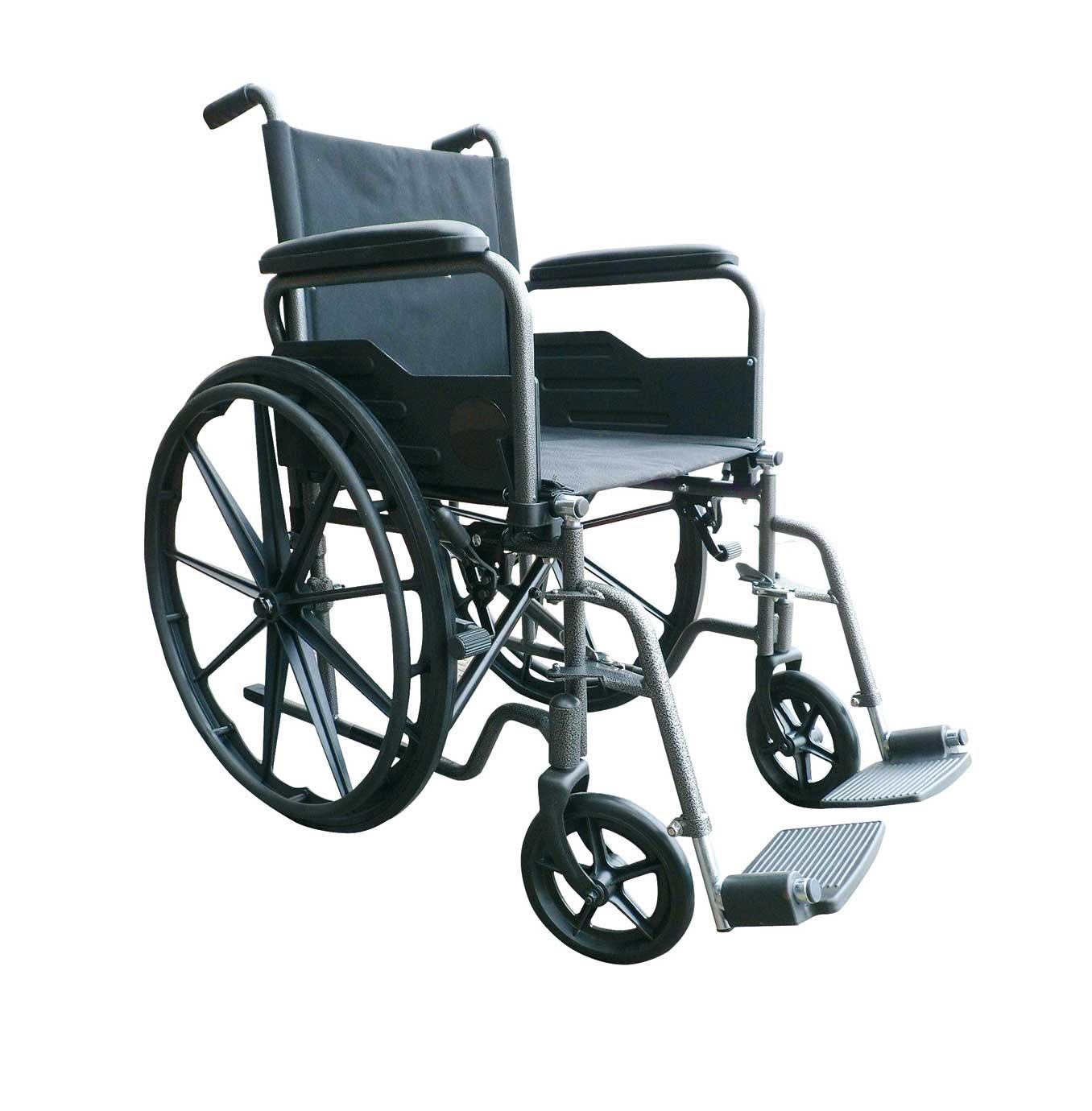 Silla de ruedas de acero rueda grande  s220  PRIM FARMA