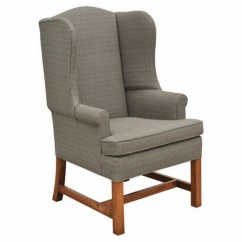 Colonial Wingback Sofas Rattan Sofa Cube Set Cover Country Upholstery Period Decor Chairs Lancaster Hearthside Chair