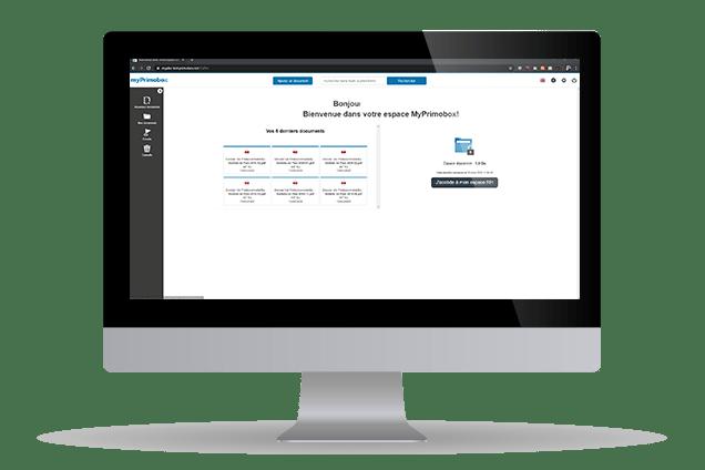 MyPrimobox espace de stockage des bulletins de salaire électronique ainsi que des documents personnels des salariés