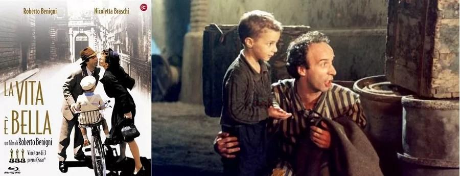 filmy o Włoszech, filmy z Italią w tle, Życie jest piękne, La vita e bella