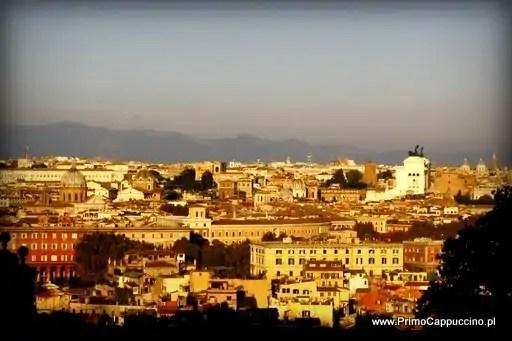 punkty widokowe rzym janikulum