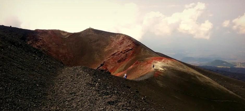 włoskie inspiracje, Etna, Etnea, Sycylia, stoki Etny
