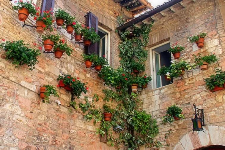 uliczki we Włoszech, miasteczka Umbrii, co zobaczyć w Umbrii