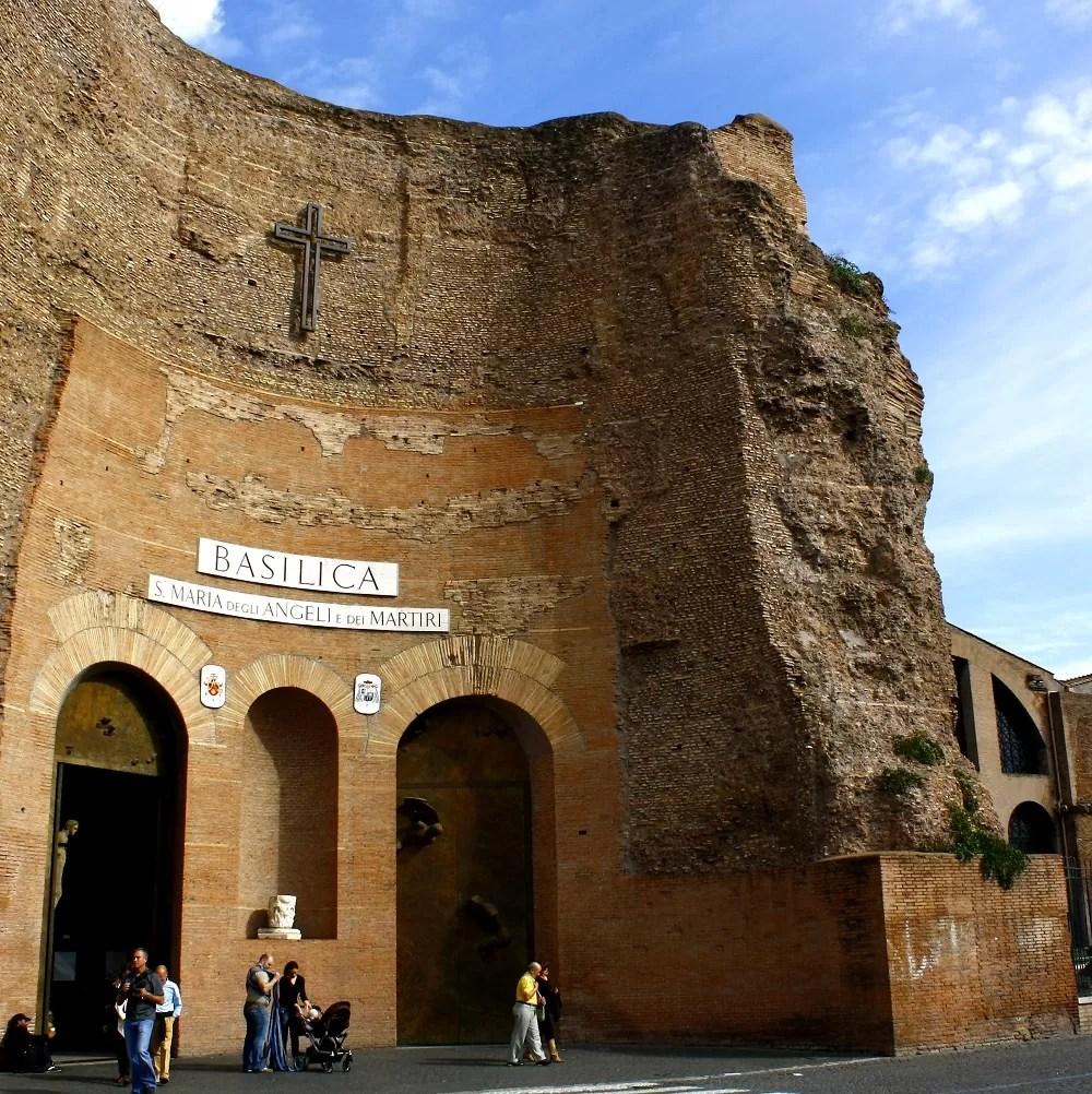 rzym co warto zobaczyć, atrakcje rzymu, co warto zobaczyć w rzymie, nieznane miejsca w Rzymie, Rzym ciekawe miejsca, rzym zwiedzanie, kościół il gesu, bazylika matki bożej anielskiej i męczenników, rzym zabytki, zabytki rzymu, co warto zwiedzić w Rzymie
